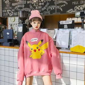 Cute Pikachu Sweatshirt