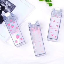 Load image into Gallery viewer, Cute Sakura Strawberry Water Bottle