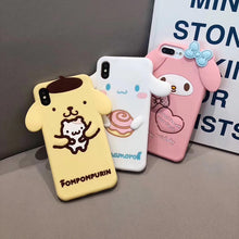 Load image into Gallery viewer, cute Melody Cinnamoroll phone case for iphone 6 6s 7 8 plus X XR XS MAX P0018