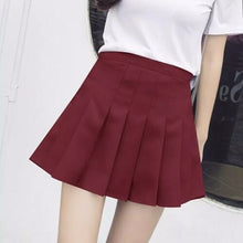 Load image into Gallery viewer, high waist pleated skirt T1016