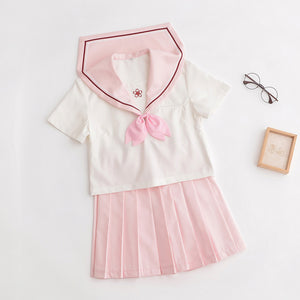 Japanese Pink school uniform J0201