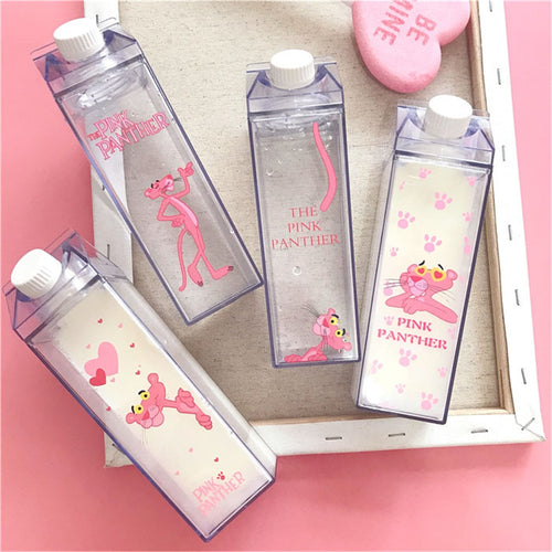 500ml  pink panther Water Bottle