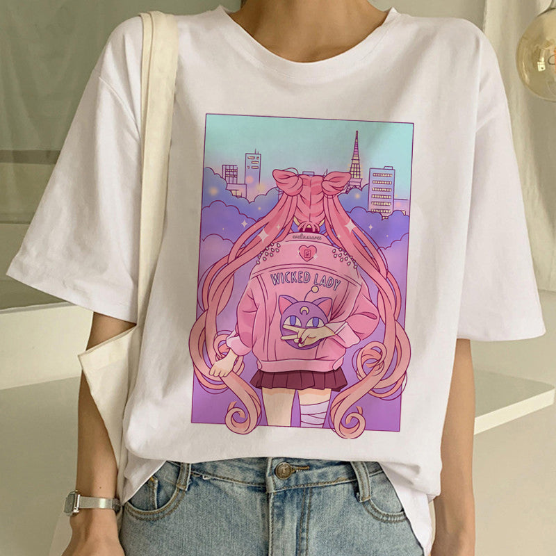 Sailor moon Tees T1007