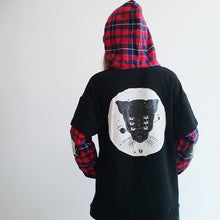 Load image into Gallery viewer, Harajuku Cat Hoodies