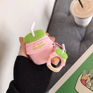 Cute Bottle Milk For Apple Airpods Protect Cover OT004