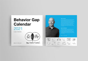 Behavior Gap Calendar 2021 - 10 copies for the price of 9
