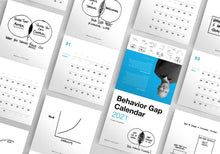 Load image into Gallery viewer, Behavior Gap Calendar 2021 - 10 copies for the price of 9