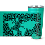 World Map Viking Tumblers