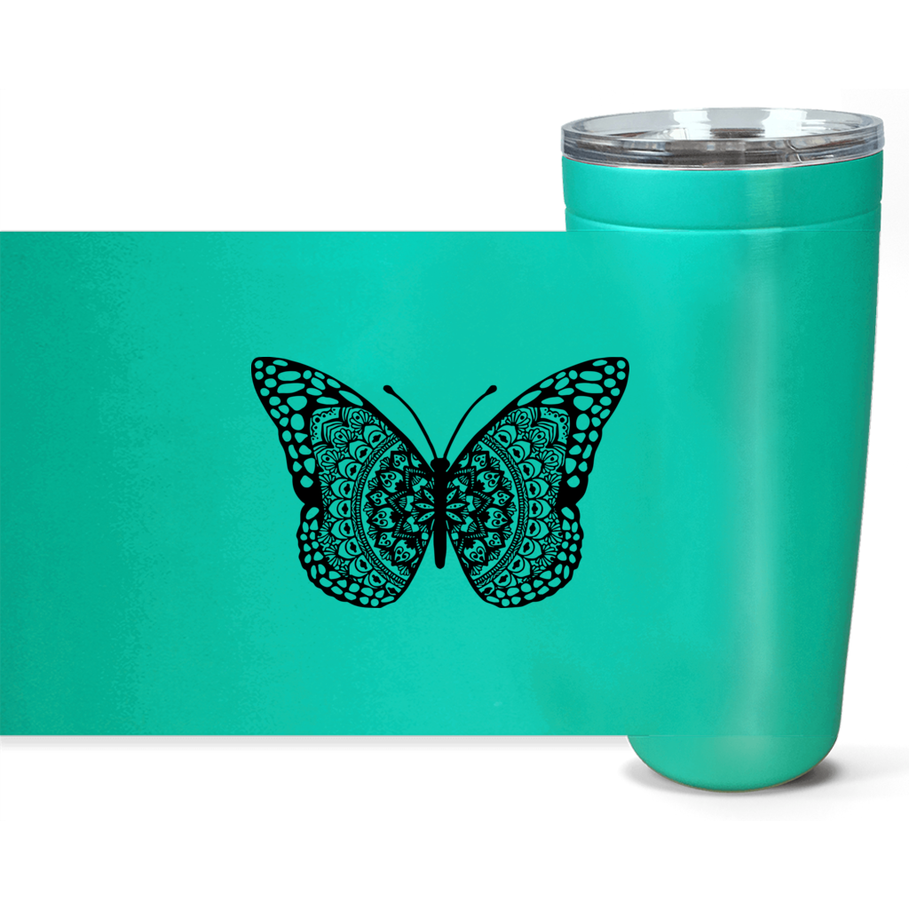 Butterfly Viking Tumblers