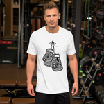 Boxing Gloves Short-Sleeve Unisex T-Shirt