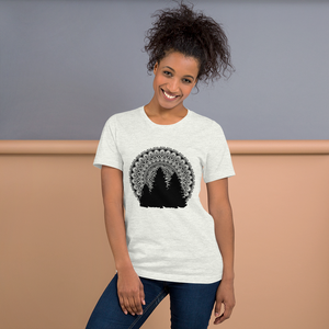 Tree Silhouette Short-Sleeve Unisex T-Shirt