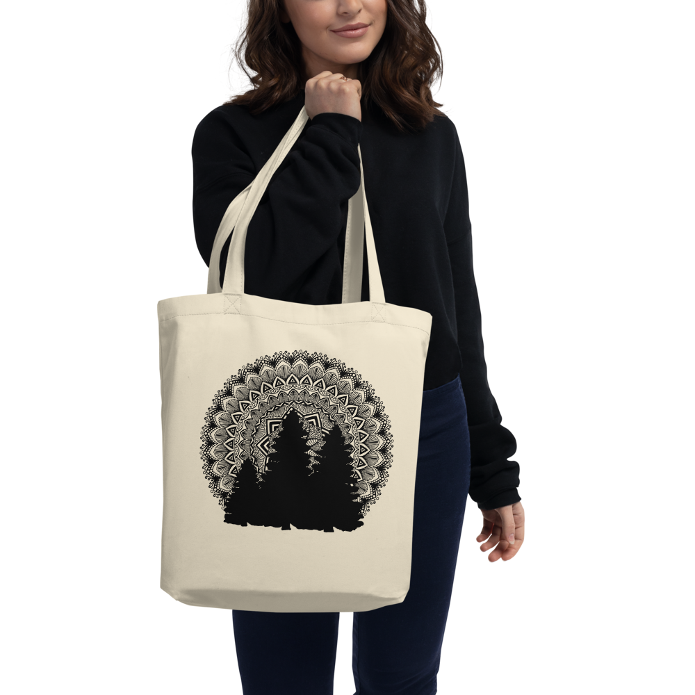 Tree Silhouette Eco Tote Bag