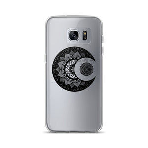 Flower Moon Mandala Samsung Case