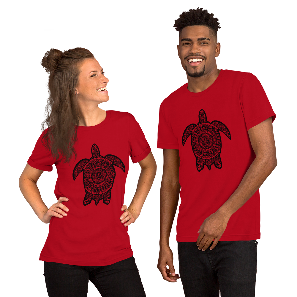 Turtle Short-Sleeve Unisex T-Shirt