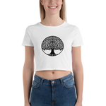Tree Of Life Women's Crop Tee