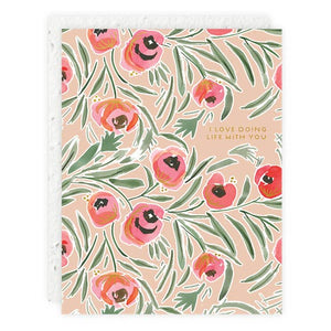 Love Doing Life Misha Floral Card