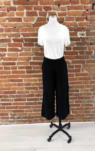 Best Ever Wide Leg Trousers in Black