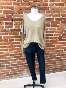 Aiden Sweater in Taupe
