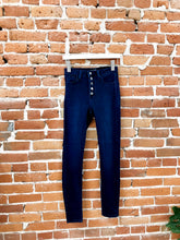 Load image into Gallery viewer, Michelle Button-Down Skinny Jean in Dark Wash