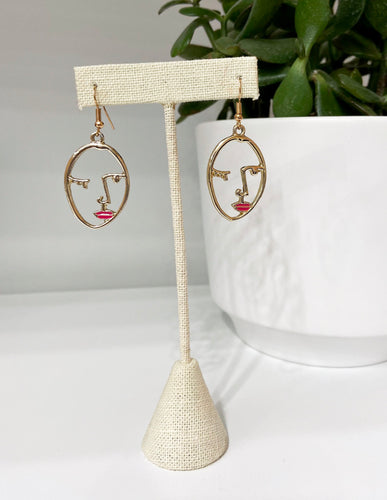 Maybe She's Born With It Earrings  - FINAL SALE
