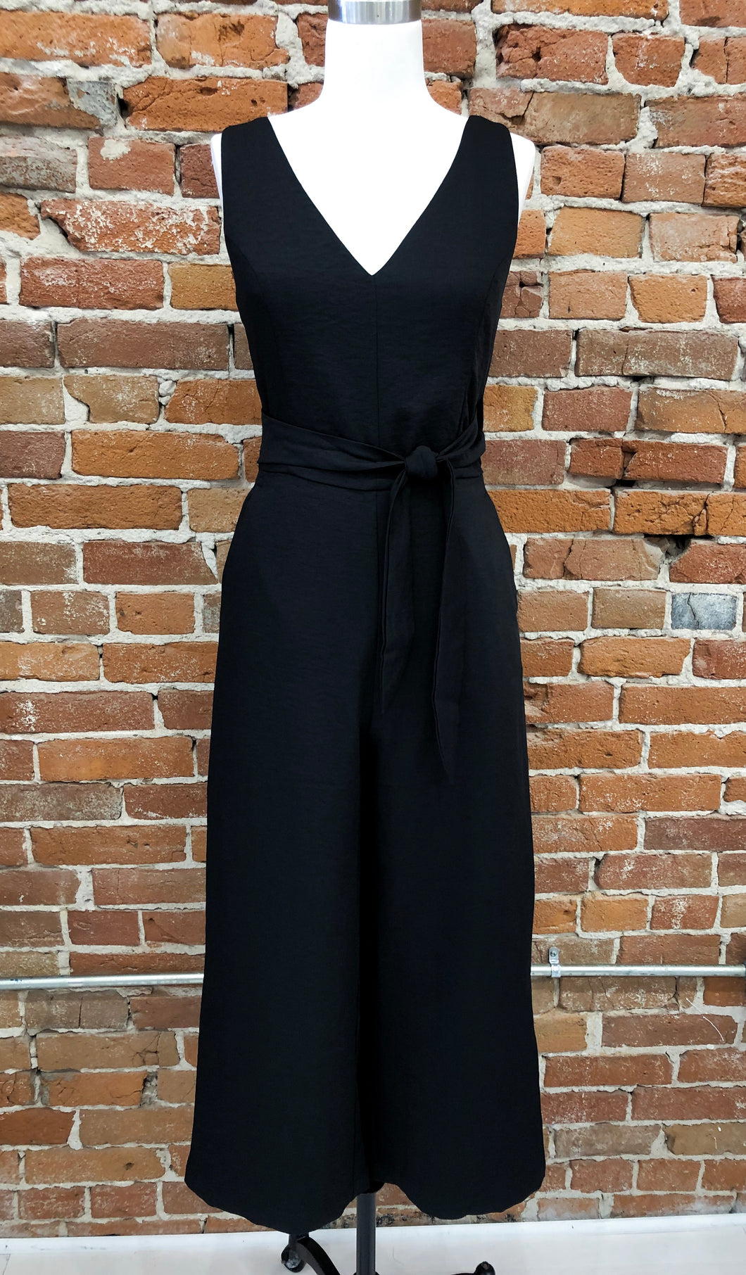 Paige Jumpsuit in Black