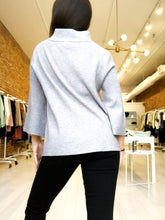 Load image into Gallery viewer, Mock Neck Sweater in Charcoal
