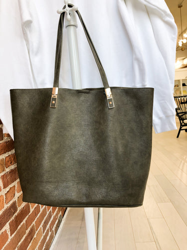 Campbell Tote Bag in Olive