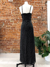Load image into Gallery viewer, Portia Sequined Maxi in Black