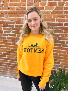 Hotmes Sweatshirt in Mustard