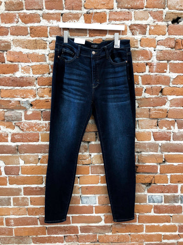 Amber Skinny Denim in Dark Wash - FINAL SALE