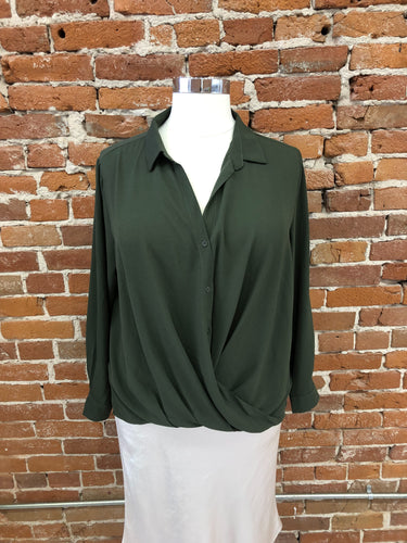 Gregory Blouse in Olive