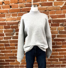 Load image into Gallery viewer, Troy Sweater in Heather Grey
