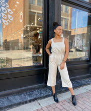 Load image into Gallery viewer, Hayleigh Jumpsuit in Sand