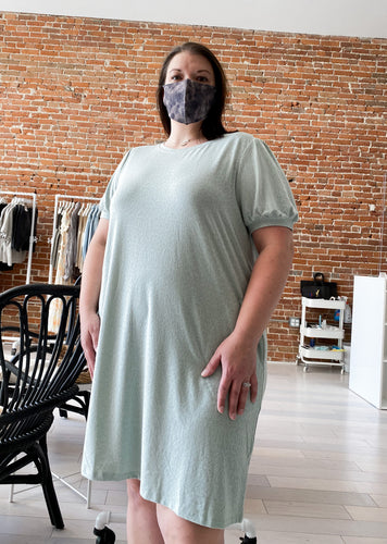 Morgana Dress in Seafoam