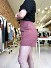 Load image into Gallery viewer, Colleen Shorts in Marsala