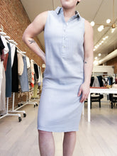 Load image into Gallery viewer, Anne Collared Dress in Dove Grey