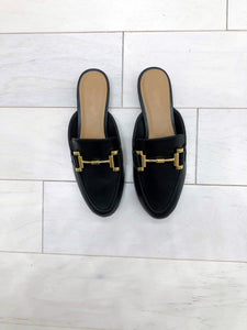 Everyday Mules in Black