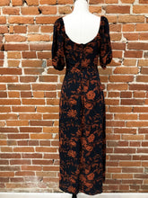 Load image into Gallery viewer, Sweetheart Dress in Navy Print