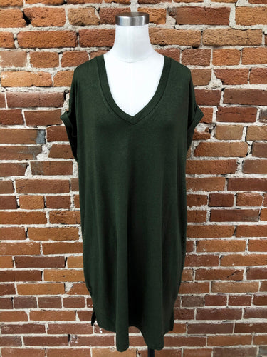 Dolly Knit Dress in Olive