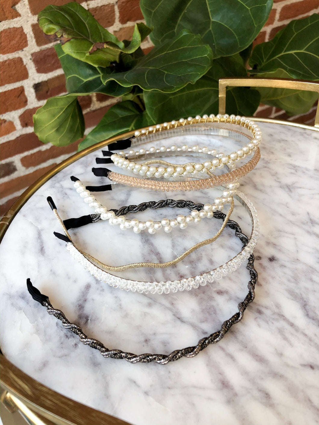Slim Fancy Headband Assortment