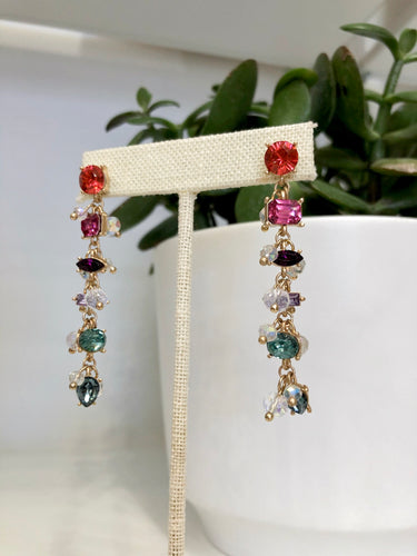 Caicos Jeweled Dangle Earrings