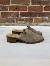 Load image into Gallery viewer, Ginny Faux Suede Mules in Taupe