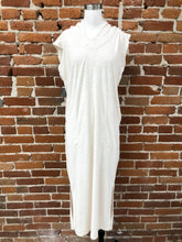 Load image into Gallery viewer, James Dress in Cream Terry