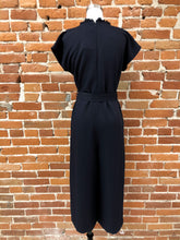 Load image into Gallery viewer, Celesta Jumpsuit in Navy - FINAL SALE