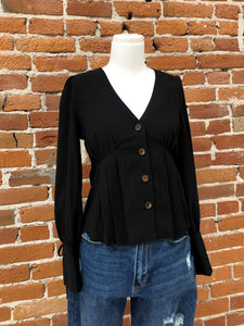 Sandra Blouse in Black