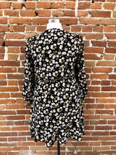 Load image into Gallery viewer, Janette Faux-Wrap Dress in Floral