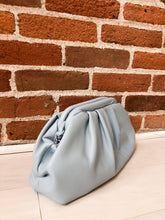 Load image into Gallery viewer, Larkspur Pouch Purse in Light Blue