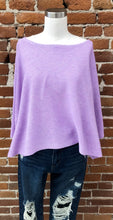 Load image into Gallery viewer, Samberg Knit Short Sleeve Sweater in Lavender