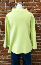 Load image into Gallery viewer, Mock Neck in Lime