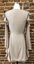 Load image into Gallery viewer, Dion Pom Pom Dress in Blush